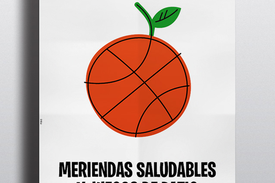 Cartel Meriendas saludables